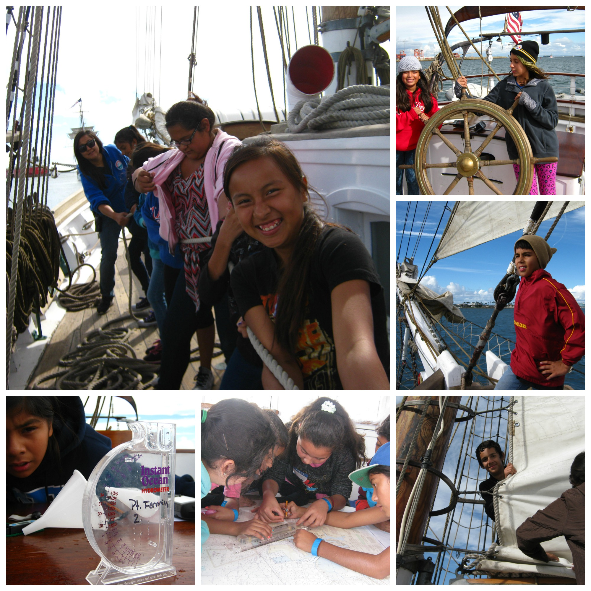 Learning at sea on tall ships los angeles