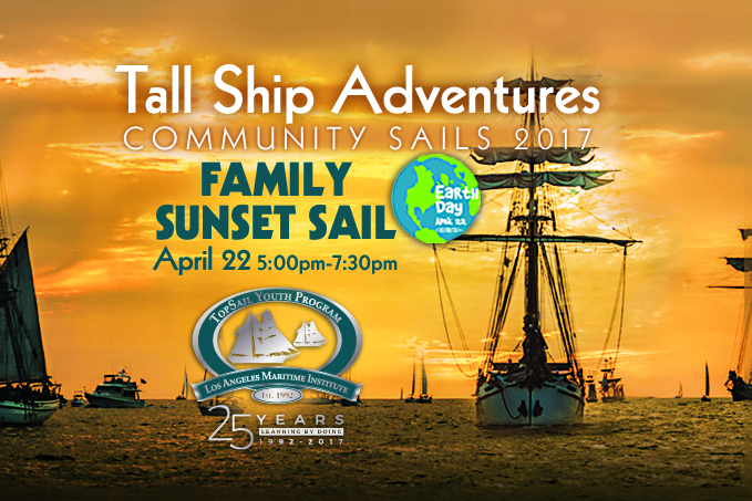 Tall Ship Family Sail Earth Day Los Angeles